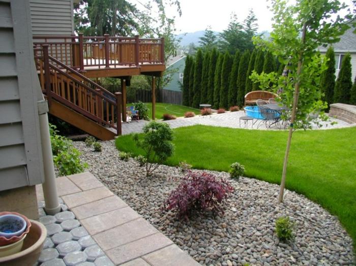 30 Gartengestaltung Ideen u2013 Der Traumgarten zu Hause - garten anlegen beispiele
