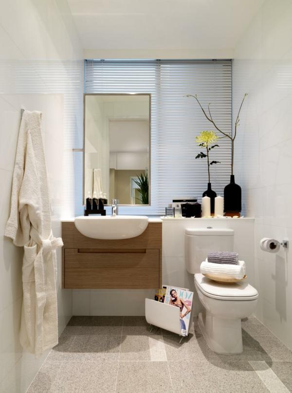 ... 30 Super Ideen Für Kreative Badezimmergestaltung   Archzinenet    Badezimmer Deko ...