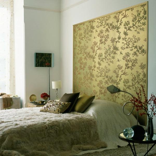 Aktuelle Schlafzimmer Tapeten  30 Interessante Vorschl228;ge F252;r Tapeten Im Schlafzimmer