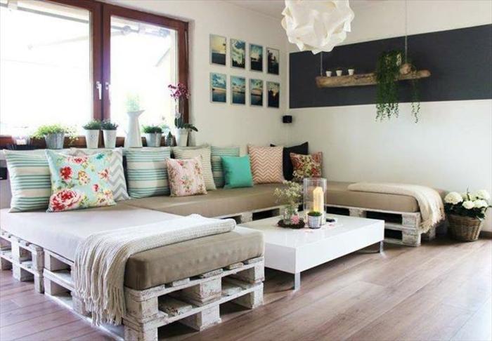 ▷ Möbel aus Paletten - 95 sehr interessante Beispiele! - holz mobel aus europaletten bauen