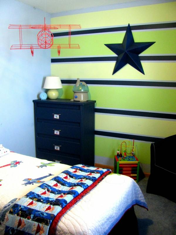 Kinderzimmer streichen - lustige Farben für eine freundliche - idee kinderzimmer streichen