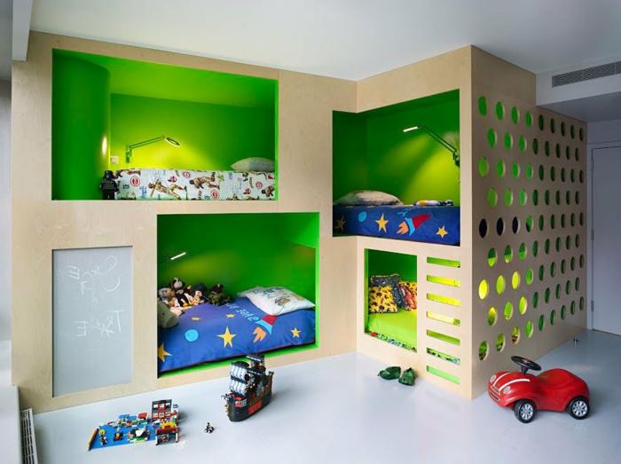 120 super originelle Ideen fürs Jungenzimmer! - Archzinenet - wie kinderzimmer einrichten