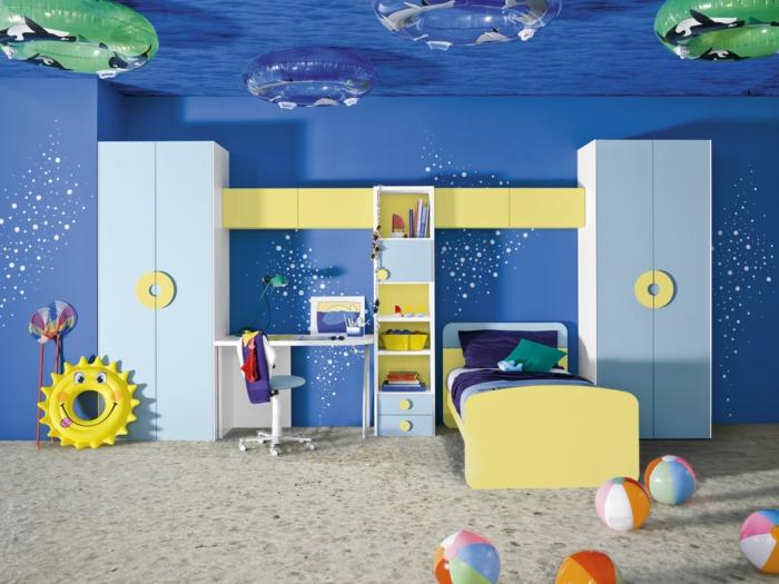 120 super originelle Ideen fürs Jungenzimmer! - Archzinenet - kinderzimmer gestalten junge
