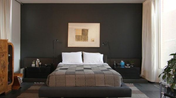 Schlafzimmerwand gestalten - 40 wunderschöne Vorschläge - schlafzimmer gestalten wandfarbe