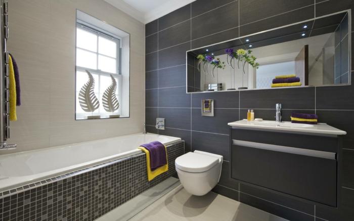 Badezimmer Modern Grau u2013 edgetagsinfo - gestaltung badezimmer nice ideas