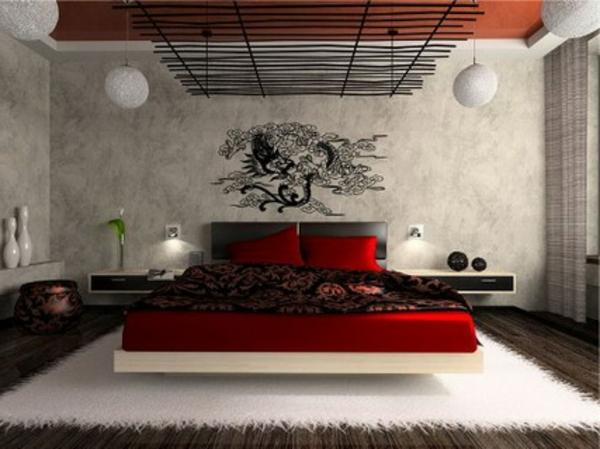 Schlafzimmerwand gestalten - 40 wunderschöne Vorschläge - gestaltung schlafzimmer ideen