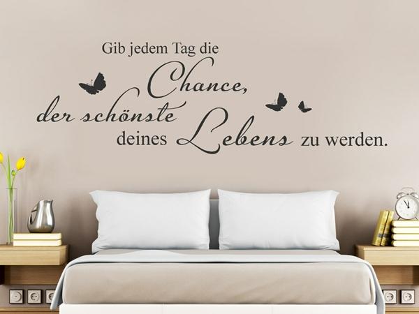 Wandtattoo Schlafzimmer Zitate | Wandtattoos Sprüche Schlafzimmer ...