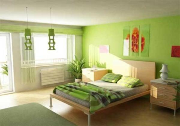 Best Wohnzimmer Farben Beispiele Grun Photos - ghostwire - schlafzimmer ideen in grun
