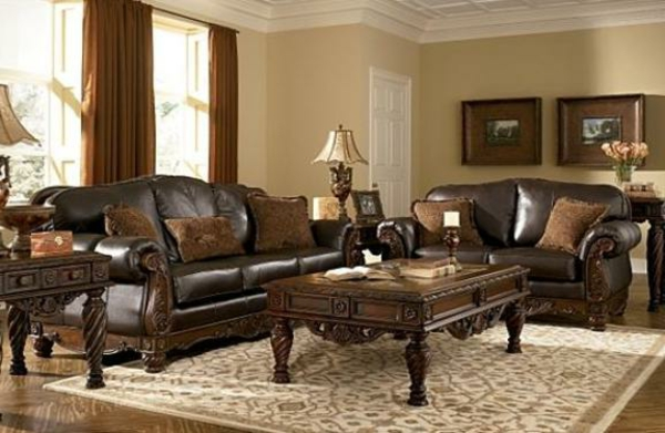 Wohnzimmer Couch Leder  Braunes Sofa Ein Quot;must Havequot; Zu Hause Archzine