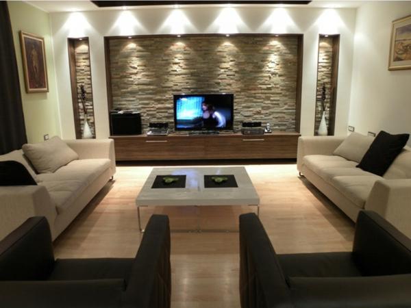 61 coole Beleuchtungsideen für Wohnzimmer! - Archzinenet - beleuchtung wohnzimmer ideen