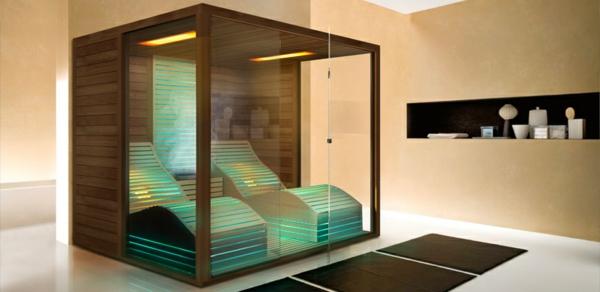 Beautiful Sauna Fürs Badezimmer Ideas - House Design Ideas - badezimmer mit sauna