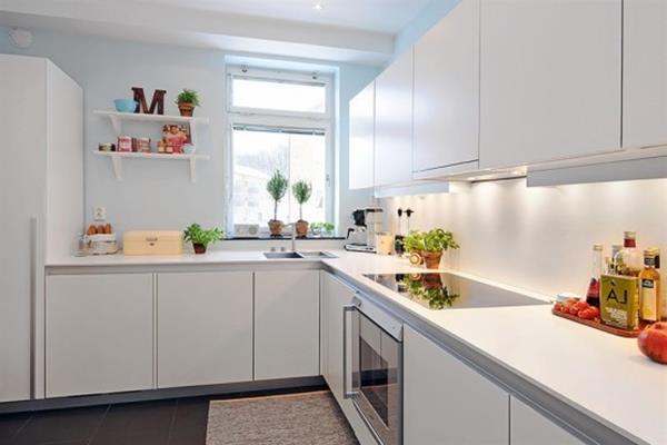 Küchenlösungen Für Kleine Küchen U Form | Clean And Fresh ...