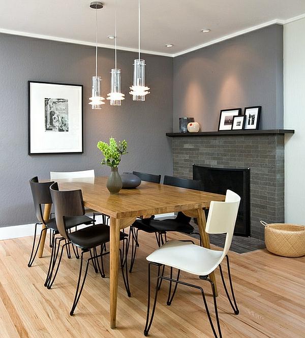 Gemütliche Innenarchitektur : Einrichtungsideen Wohnzimmer Grau