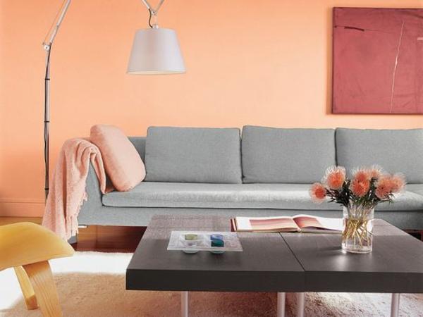 Wandfarbe Apricot - Warm Und Gemütlich! - Archzinenet   cvcover ...