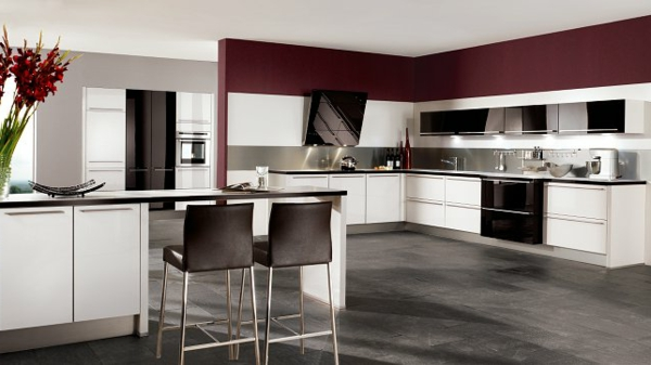 Moderne Kuchenwande Glas Gestalten u2013 edgetagsinfo - moderne kuchenplanung gestaltung traumkuchen