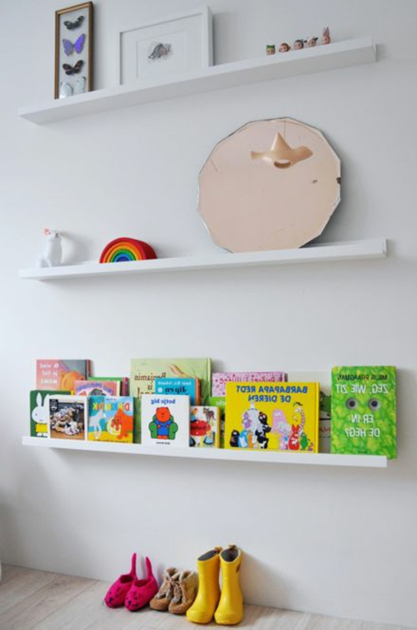 Kinder Bücherregal Tolle Ideen Archzine Net - Kinderzimmer Regal Baum
