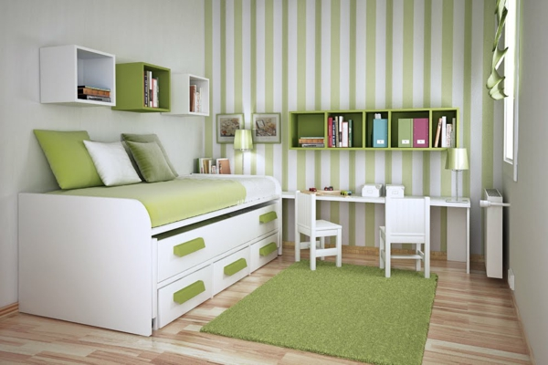 Bücherregal Kinderzimmer Wand Kinder Bücherregal - Tolle Ideen - Archzine.net