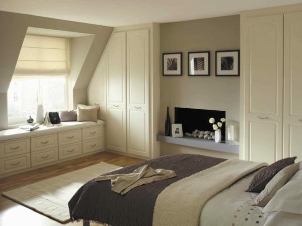 schlafzimmer farben dachschrge – usblife, Schlafzimmer