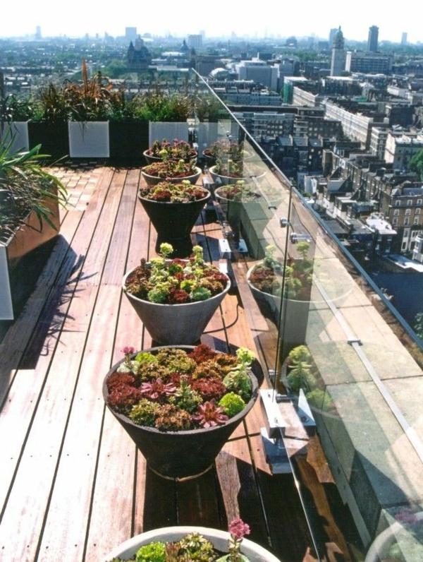 Eine Dachterrasse gestalten - neue fantastische Ideen - Archzinenet - ideen terrasse gestalten
