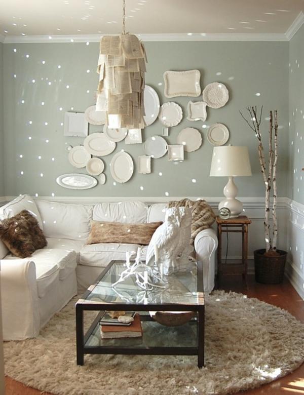Fantastische Birkenstamm Deko! - Archzinenet - dekoration wohnzimmer bilder