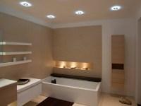 Badbeleuchtung fr Decke - 100 inspirierende Fotos ...