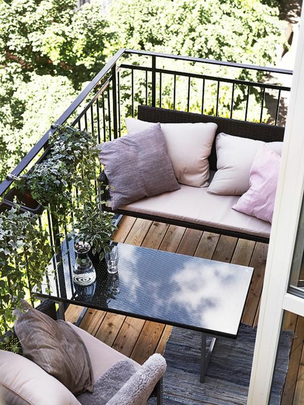 Schöne Terrasse einrichten - 100 tolle Ideen! - Archzinenet - kleine terrasse gestalten