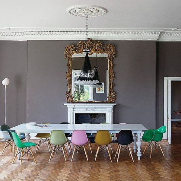 Beautiful Bunte Stuhle Sessel 25 Raumideen Contemporary - House ...