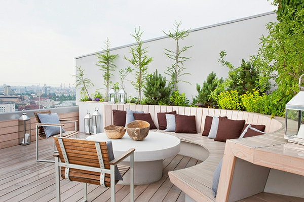 Emejing Terrasse Einrichten Ideen Pouf Photos   Home Design Ideas   10  Attraktive Moderne Sitzpuffs
