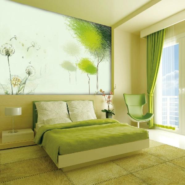 Schlafzimmer Ideen Farbgestaltung Grün rheumri - gestaltung schlafzimmer ideen