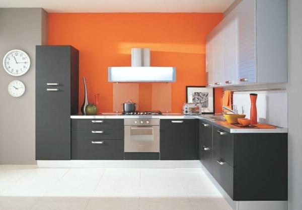 orange kuche welche wandfarbe | hausdesign.paasprovider.com