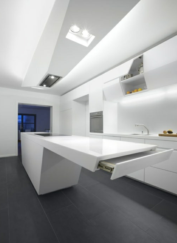 20 Moderne Kuchenmobel Minimalistische Gestaltungen villawebinfo - moderne kuchenplanung gestaltung traumkuchen