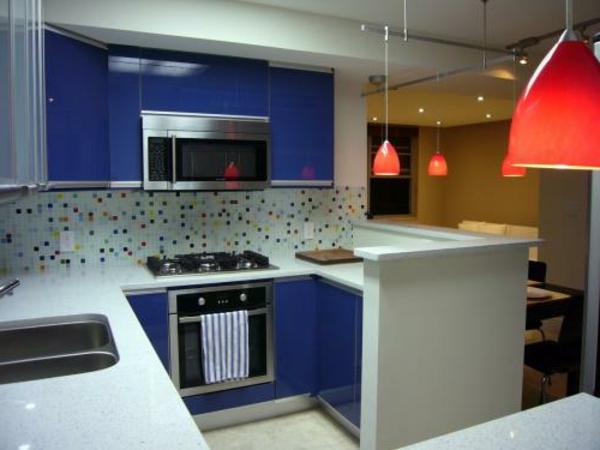 160 neue Küchenideen Blaue und grüne Farbe - Archzinenet - weisse kuche mit mosaikfliesen