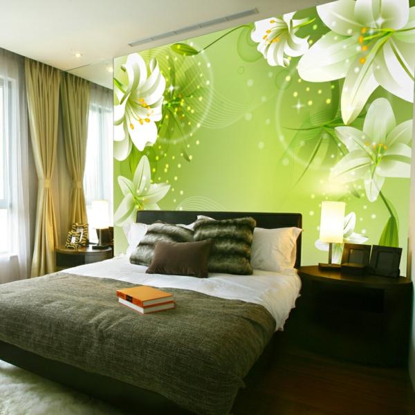 Schlafzimmer Ideen Braun Grün rheumri - schlafzimmer wandgestaltung braun