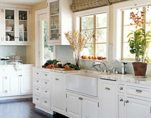 Einrichtungsideen Küche Landhaus harzite - zauberhafte kuche landhausstil einrichten