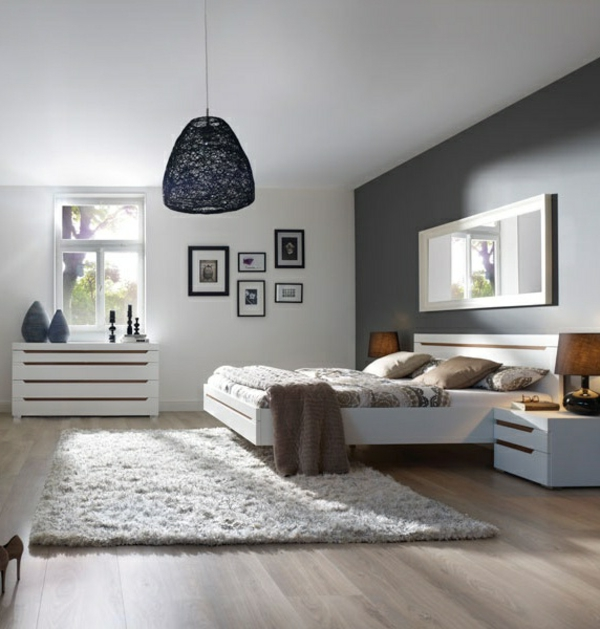 Modernes Schlafzimmer einrichten - 99 schöne Ideen! - Archzinenet - schlafzimmereinrichtung ideen