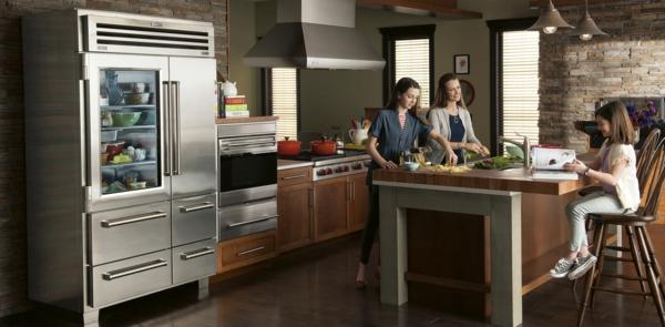 Küche Mit Amerikanischem Kühlschrank | Ocaccept.Com