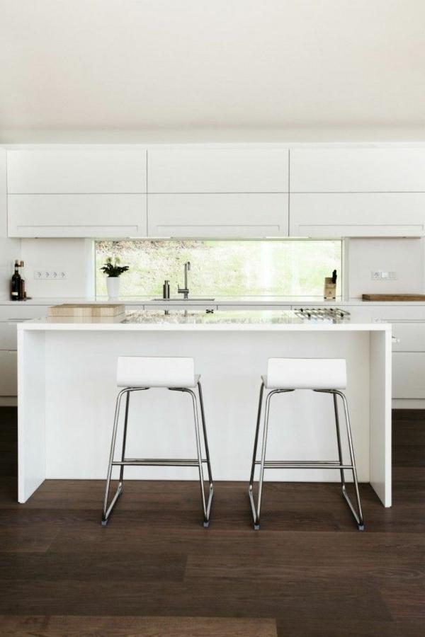 Hocker Für Küchenbar   Kücheninsel Mit Theke Interieur ...