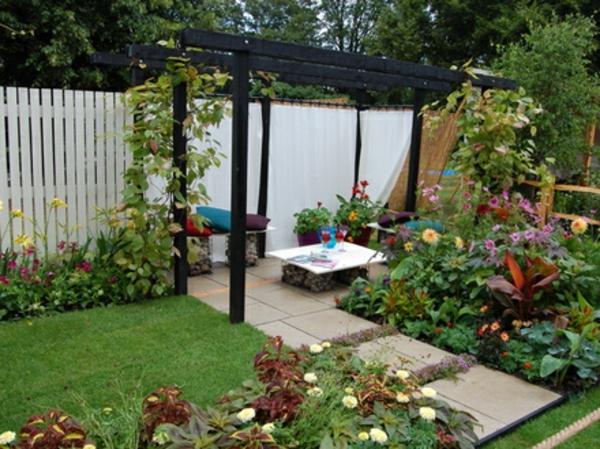 83 wunderschöne kleine Gärten! - Archzinenet - garten gestalten bilder