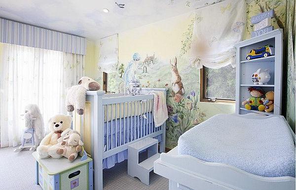 Babyzimmer Farben Jungs   Wohndesign