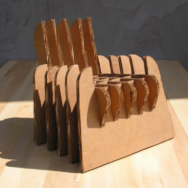 mobel aus pappe 75 originelle vorschlage