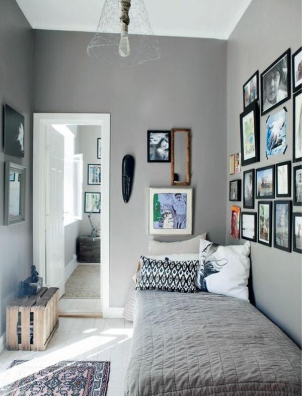 Gästezimmer einrichten - 50 wunderbare Ideen! - Archzinenet - schlafzimmer gestalten wandfarbe
