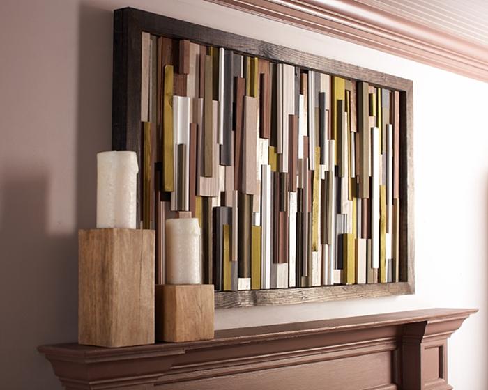 40 Verblüffende Ideen Für Wanddeko Aus Holz Archzinenet