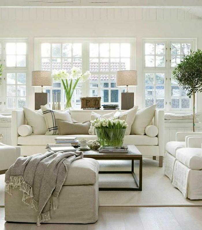 Einrichtungsideen fürs Wohnzimmer in 45 Fotos - Archzinenet - schone wohnzimmer