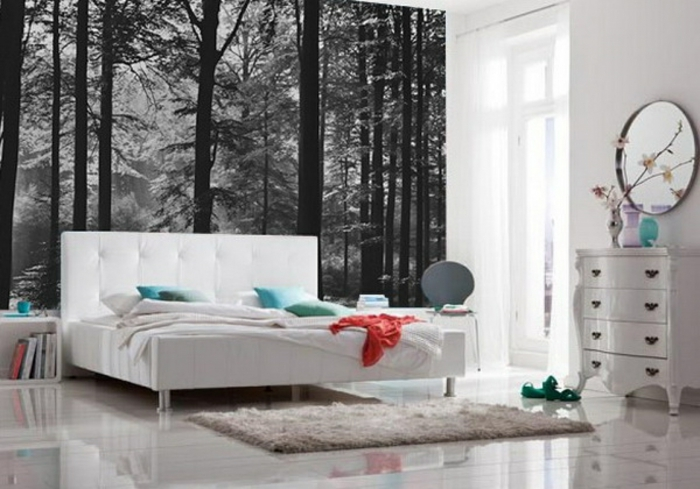 Aktuelle Schlafzimmer Tapeten  Schlafzimmer Tapeten F252;r Ein Attraktives Aussehen