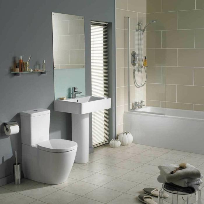 Bad Dunkle Helle Wandfliesen Top Renovierung Meines Bathroom - badezimmer hell grauer boden