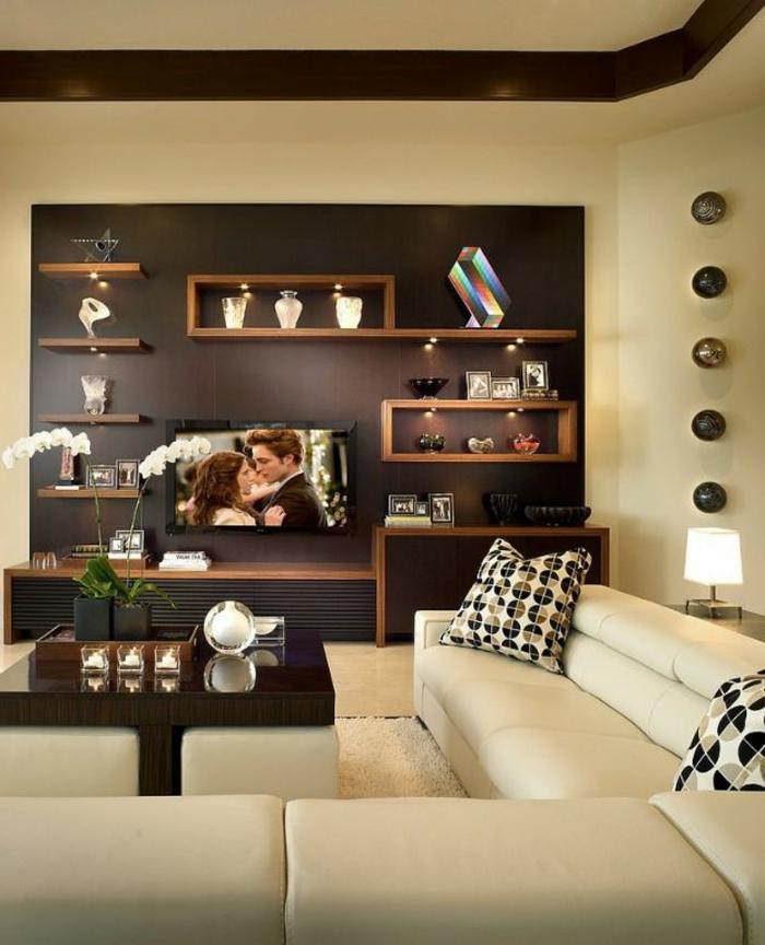 65 Vorschläge für Dekoration im Wohnzimmer! - Archzinenet - dekoration wohnzimmer bilder