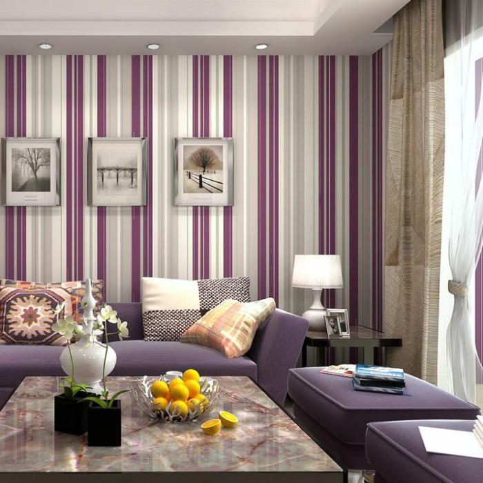Wohnzimmer Ideen Wandgestaltung Lila u2013 ragopigeinfo - beispiele wandfarbe lila wohnzimmer