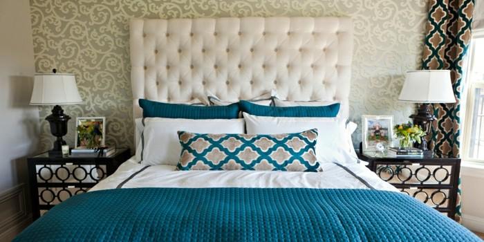 40 wunderschöne Modelle Tagesdecke - Archzinenet - schlafzimmer in turkis