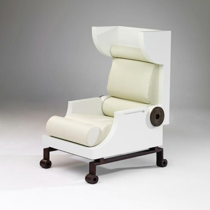 Designerstuhl Phillip Grass Futuristisch U2013 Topbyinfo   Designer Sessel  Polifemo Adrenalina