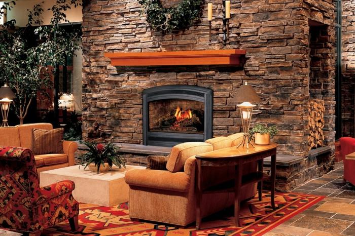 Moderne Landhausmöbel - wie sehen sie aus? - Archzinenet - landhausstil rustikal wohnzimmer
